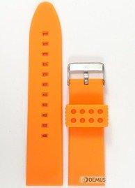 Pasek silikonowy do zegarka JVD PG5.26.5 - 26 mm