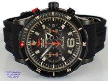 Pasek silikonowy do zegarka Vostok Anchar 6S21-510C582 - 24 mm