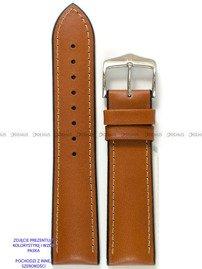 Pasek skórzano-kauczukowy do zegarka - Hirsch James 0925002070-2-18 - 18 mm