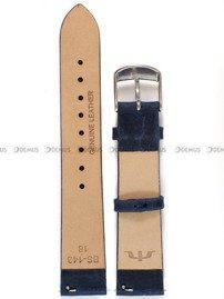 Pasek skórzany do zegarka Bisset - BS-143 - 18 mm