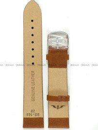 Pasek skórzany do zegarka Bisset BS-169 - 20 mm