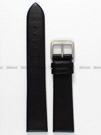 Pasek skórzany do zegarka Bisset BSCE43 - ABP/E43-MAT - 20 mm