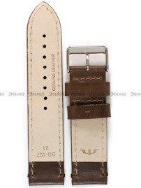 Pasek skórzany do zegarka Bisset - PB96.24.2 - 24 mm