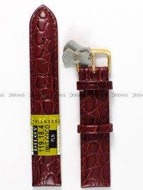 Pasek skórzany do zegarka - Diloy 119.18.4 - 18 mm