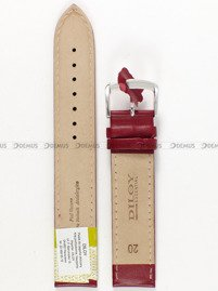 Pasek skórzany do zegarka - Diloy 302EL.20.4 - 20 mm