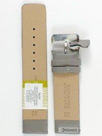 Pasek skórzany do zegarka - Diloy 327.22.7 - 22 mm