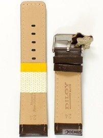 Pasek skórzany do zegarka - Diloy 367.24.2 - 24mm