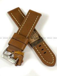 Pasek skórzany do zegarka - Diloy 384.22.3 - 22 mm