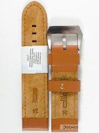 Pasek skórzany do zegarka - Diloy 384.24.3 - 24 mm
