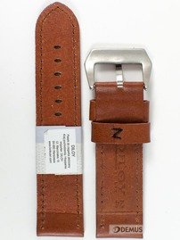 Pasek skórzany do zegarka - Diloy 384.24.8.1 - 24 mm