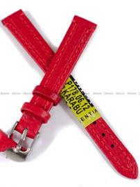 Pasek skórzany do zegarka - Diloy P178.12.6 - 12 mm
