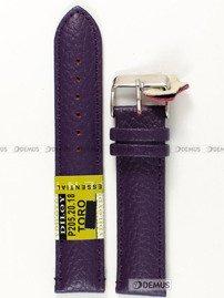 Pasek skórzany do zegarka - Diloy P205.20.18 - 20mm