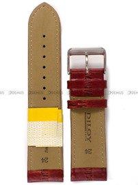Pasek skórzany do zegarka - Diloy P266.24.3 - 24 mm