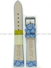 Pasek skórzany do zegarka - Diloy P348.18.16 - 18 mm