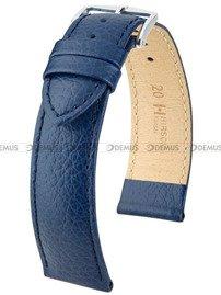 Pasek skórzany do zegarka - Hirsch Kansas 01502080-2-18 - 18 mm