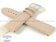 Pasek skórzany do zegarka - Hirsch Osiris 03433122-2-18 - 18 mm