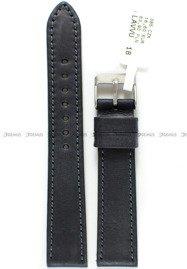 Pasek skórzany do zegarka - LAVVU LSAUB18 - 18 mm