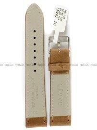 Pasek skórzany do zegarka - LAVVU LSAUE20 - 20 mm