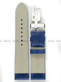 Pasek skórzany do zegarka - LAVVU LSAUL22 - 22 mm