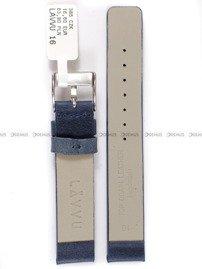Pasek skórzany do zegarka - LAVVU LSCUL16 - 16 mm