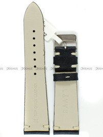 Pasek skórzany do zegarka - LAVVU LSNUB22 - 22 mm