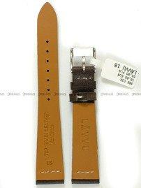 Pasek skórzany do zegarka - LAVVU LSVUC18 - 18 mm
