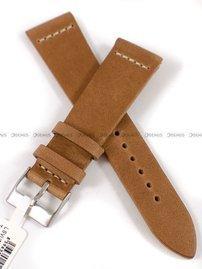 Pasek skórzany do zegarka - LAVVU LSVUE22 - 22 mm