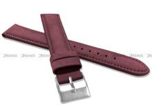 Pasek skórzany do zegarka - Minet MSNUB18 - 18 mm