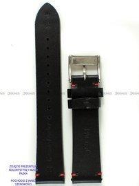 Pasek skórzany do zegarka - Pacific W118.24.1.4 - 24 mm