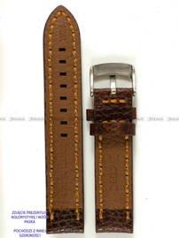 Pasek skórzany do zegarka - Pacific W24.22.2.3 - 22 mm