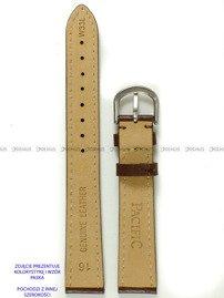Pasek skórzany do zegarka - Pacific W33L.18.2.2 - 18 mm