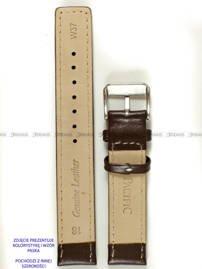 Pasek skórzany do zegarka - Pacific W37.22.2.7 - 22 mm