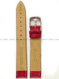 Pasek skórzany do zegarka - Pacific W70L.18.4.4 - 18 mm