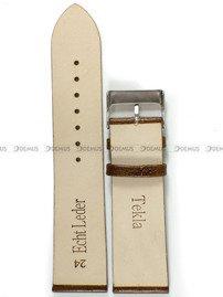 Pasek skórzany do zegarka - Tekla PT35.24.3 - 24 mm