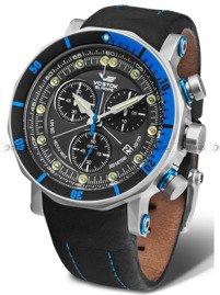 Pasek skórzany do zegarka Vostok Lunokhod 6S30-6205213 - 25 mm
