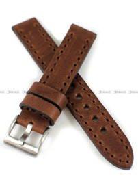 Pasek skórzany ręcznie robiony do zegarka - Tekla PT-HM3-18.2.2 - 18 mm