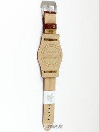 Pasek skórzany z podkładką do zegarka - Diloy 386.24.9 - 24 mm