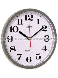 Zegar ścienny Adler 30019-GREY
