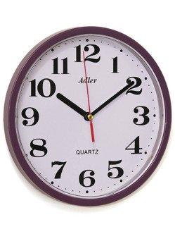 Zegar ścienny Adler 30019-VIOLET