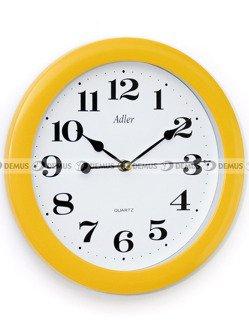 Zegar ścienny Adler 30021-Yellow-PL-Ż