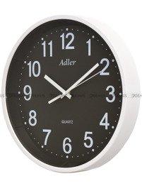 Zegar ścienny Adler 30125-WHITE-BLACK