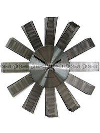 Zegar ścienny ExitoDesign Petal Silver HS-3063NK
