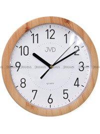 Zegar ścienny JVD H612.18 z tworzywa okrągły