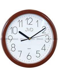 Zegar ścienny JVD HP612.16.2 z tworzywa okrągły