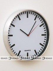 Zegar ścienny aluminiowy E01.2483.7000