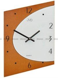 Zegar ścienny szklano-drewniany JVD N1171.41