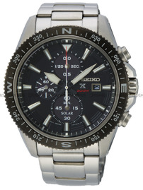 Zegarek Męski Seiko Prospex Chronograph Solar SSC705P1