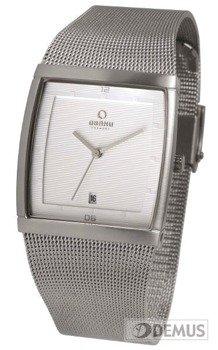 Zegarek męski na bransolecie Obaku V102GCCMC